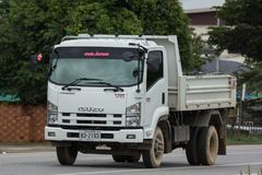Isuzu Dump Truck privée photos stock
