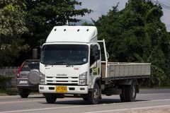 Isuzu Dump Truck privée photographie stock