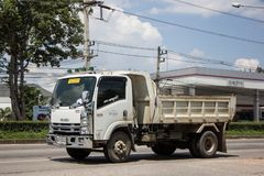 Isuzu Dump Truck privée photo libre de droits