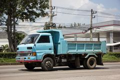 Isuzu Dump Truck privée images stock