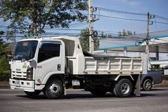 Isuzu Dump Truck privée photo stock