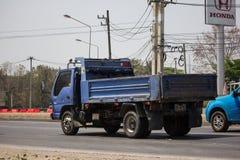 Isuzu Dump Truck privée images stock