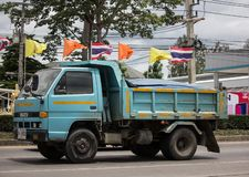 Isuzu Dump Truck priv?e image libre de droits