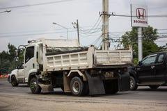 Isuzu Dump Truck priv?e photographie stock libre de droits