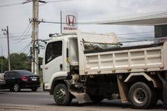 Isuzu Dump Truck priv?e photographie stock