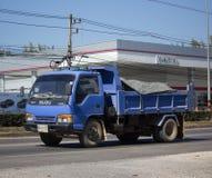 Isuzu Dump Truck privada imágenes de archivo libres de regalías