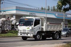 Isuzu Dump Truck privada foto de stock