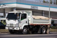 Isuzu Dump Truck privada fotografia de stock royalty free