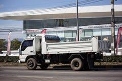 Isuzu Dump Truck privada imagens de stock