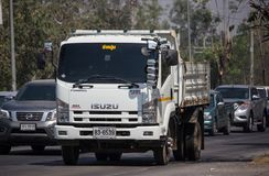 Isuzu Dump Truck privada imagens de stock royalty free
