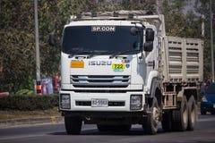 Isuzu Dump Truck privada foto de stock royalty free