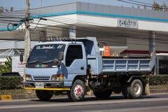 Isuzu Dump Truck privada imagem de stock