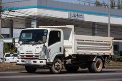 Isuzu Dump Truck privada imagem de stock royalty free