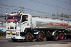 Isuzu FYH360 Trailer Truck and Palm Oil Tank Truck of Suksamran Royalty Free Stock Photography