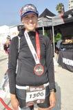 Isuzu Ironman Νότια Αφρική - παγκόσμιο πρωτάθλημα στο λιμένα Elizabeth στη Νότια Αφρική Στοκ εικόνα με δικαίωμα ελεύθερης χρήσης