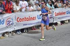 Isuzu Ironman Νότια Αφρική - παγκόσμιο πρωτάθλημα στο λιμένα Elizabeth στη Νότια Αφρική Στοκ φωτογραφία με δικαίωμα ελεύθερης χρήσης