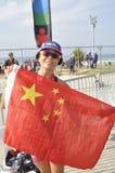 Isuzu Ironman Южная Африка - чемпионат мира в Port Elizabeth в Южной Африке стоковое изображение rf