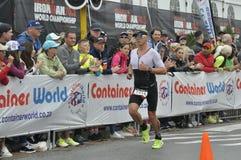 Isuzu Ironman Южная Африка - чемпионат мира в Port Elizabeth в Южной Африке стоковое фото