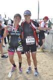 Isuzu Ironman Sudafrica - campionato del mondo in Port Elizabeth in Sudafrica Immagini Stock