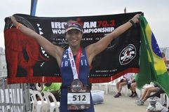 Isuzu ironman 70.3 world championship in Port Elizabeth in South africa Stock Images