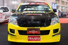 Isuzu modificado D-MAX en la exhibición en el 2do salón auto internacional 2013 de Bangkok del 20 de junio de 2013 en Bangkok Imágenes de archivo libres de regalías