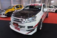 Isuzu modificado D-MAX en la exhibición en el 2do salón auto internacional 2013 de Bangkok del 20 de junio de 2013 en Bangkok Fotos de archivo