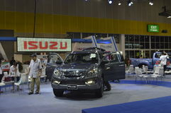 Isuzu Motors shop of FAST Auto Show Thailand 2016 Royalty Free Stock Photography