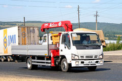 Isuzu NQR Stock Photo