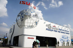 Isuzu Pavilion, BOI Fair 2011 Thailand Royalty Free Stock Photo