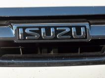 Isuzu samochodu emblemat zdjęcia royalty free
