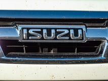 Isuzu samochodu emblemat fotografia stock