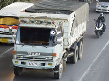 Isuzu truck in thailand. Stock Photo