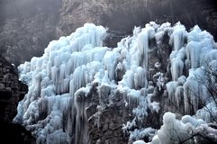 Isvärlden Fotografering för Bildbyråer