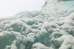 isvattenfallvinter Royaltyfri Bild
