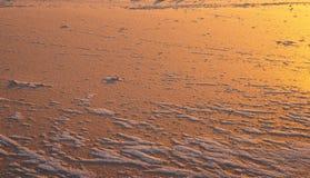 Isyttersida i sjön i vinter Royaltyfria Bilder