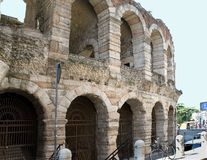 Itália, anfiteatro de Veronese fotografia de stock