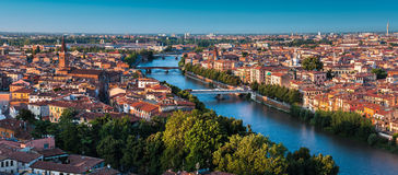Itália, cidade de Verona Imagem de Stock Royalty Free