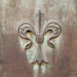 Itália: Feche acima da porta velha rústica Fotografia de Stock