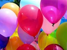 Itália, lago Garda: Ballons coloridos Fotografia de Stock