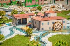 Itália na miniatura Fotografia de Stock