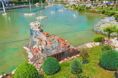 Itália na miniatura Foto de Stock Royalty Free