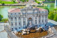 Itália na miniatura Imagens de Stock