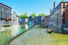 Itália na miniatura Fotos de Stock Royalty Free