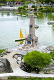 Itália na miniatura, mini-parque Fotografia de Stock Royalty Free