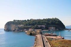 Itália - Napoli, ilha de Nisida Imagens de Stock Royalty Free