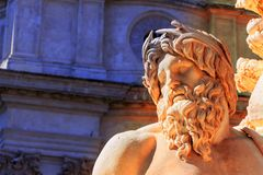 Itália, Roma, navona da praça Fotos de Stock Royalty Free