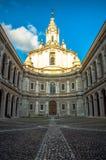 Itália, Roma, yves de Saint da catedral, Sant'Ivo Fotografia de Stock Royalty Free