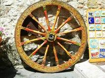 Itália, Sicília: Cartwheel siciliano típico imagens de stock