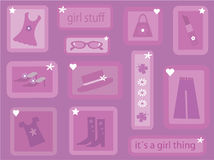 It´s a girl thing Royalty Free Stock Photos