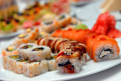 It Is A Lot Sushi Royalty Free Stock Images